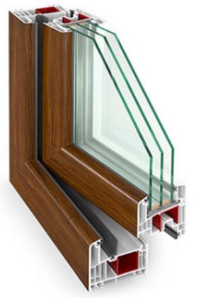 Drzwi Balkonowe Pvc Gealan 9000 6 Komór Rozwierne